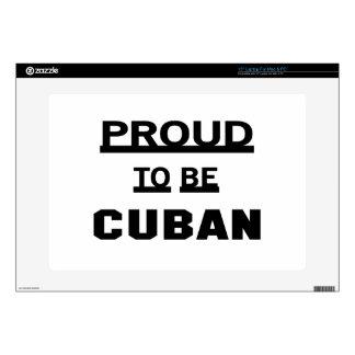 Orgulloso ser cubano portátil 38,1cm skin