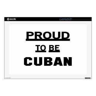 Orgulloso ser cubano portátil 43,2cm skins