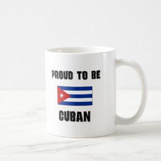 Orgulloso ser CUBANO Taza