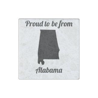 Orgulloso ser de Alabama Imán De Piedra