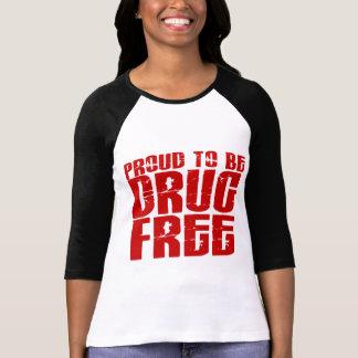 Orgulloso ser droga libere 2 camisetas