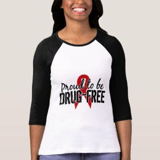 Orgulloso ser droga libere playera
