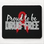 Orgulloso ser droga libere tapete de ratones