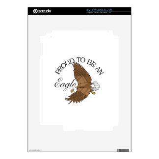 Orgulloso ser Eagle Calcomanía Para iPad 2