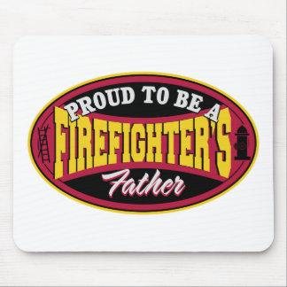 Orgulloso ser el padre de un bombero mousepad