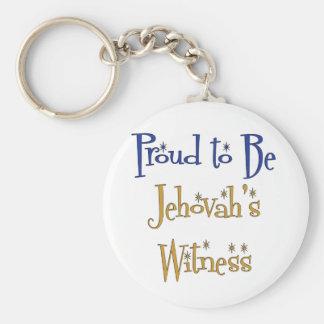 Orgulloso ser el testigo de Jehová Llaveros