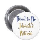 Orgulloso ser el testigo de Jehová Pin