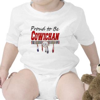 Orgulloso ser enredadera del bebé de Cowichan Trajes De Bebé