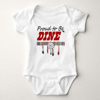 Orgulloso ser enredadera del niño de Dine Body Para Bebé