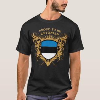 Orgulloso ser estonio playera