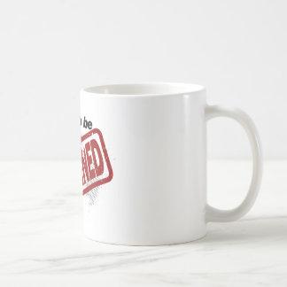 Orgulloso ser evitado taza de café