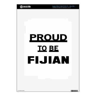 Orgulloso ser Fijian iPad 3 Skin