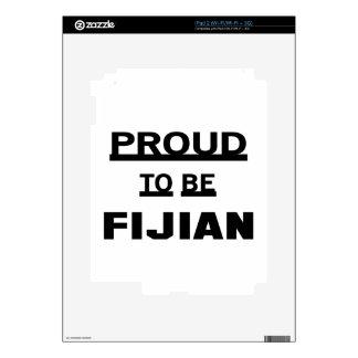 Orgulloso ser Fijian Skins Para eliPad 2