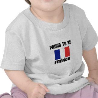 Orgulloso ser FRANCÉS Camisetas