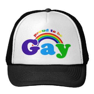 Orgulloso ser GAY Gorro
