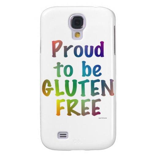 Orgulloso ser gluten libere funda para galaxy s4