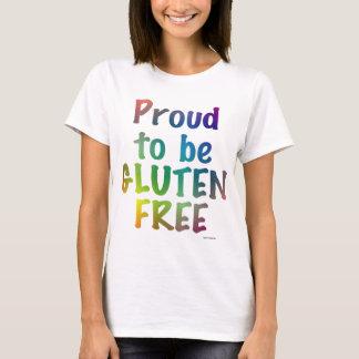 Orgulloso ser gluten libere playera