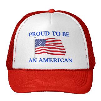 Orgulloso ser gorra americano