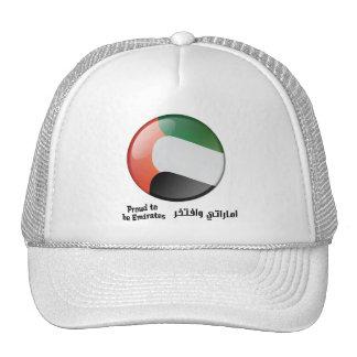 Orgulloso ser gorra de los emiratos