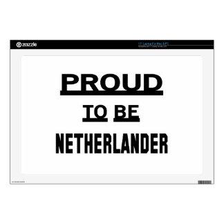 Orgulloso ser holandés skins para 43,2cm portátil
