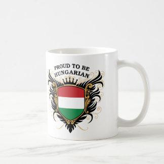 Orgulloso ser húngaro taza