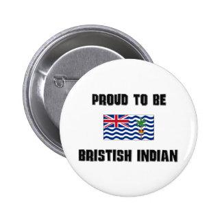Orgulloso ser INDIO de BRISTISH Pin