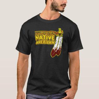 Orgulloso ser indio del nativo americano playera