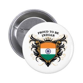 Orgulloso ser indio pins