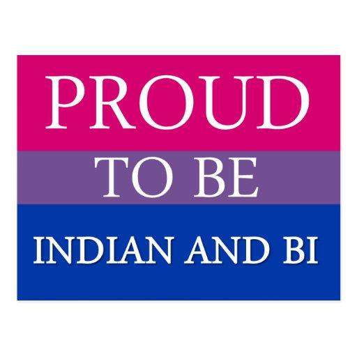 Orgulloso ser indio y BI Postales