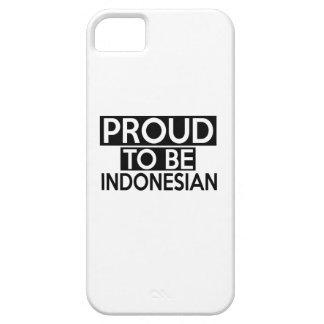 ORGULLOSO SER INDONESIO FUNDA PARA iPhone 5 BARELY THERE