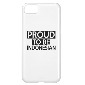 ORGULLOSO SER INDONESIO FUNDA PARA iPhone 5C