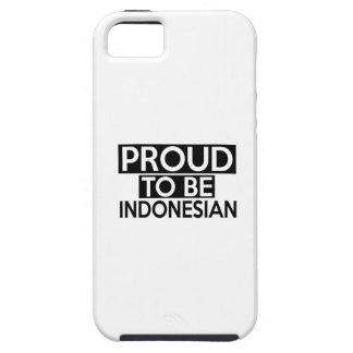 ORGULLOSO SER INDONESIO iPhone 5 CARCASAS