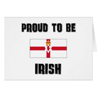 Orgulloso ser IRLANDÉS Felicitación
