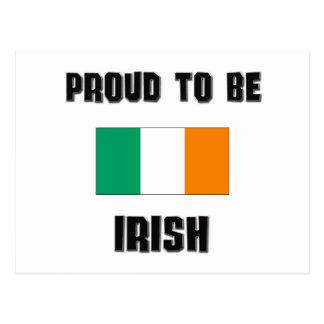 Orgulloso ser IRLANDÉS Postales