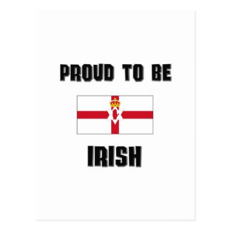 Orgulloso ser IRLANDÉS Tarjeta Postal