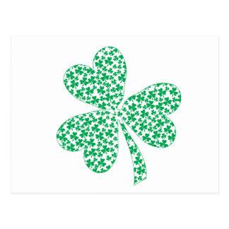 Orgulloso ser irlandés - trébol del St Pattys Postal