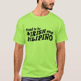Orgulloso ser irlandés y filipino playera
