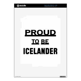 Orgulloso ser islandés iPad 2 skins