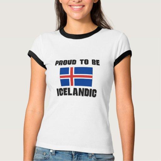 Orgulloso ser ISLANDÉS T Shirts