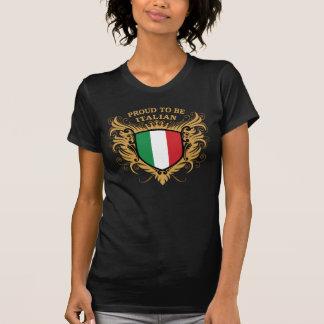 Orgulloso ser italiano t-shirt