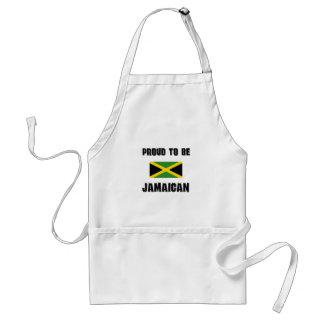 Orgulloso ser JAMAICANO Delantal