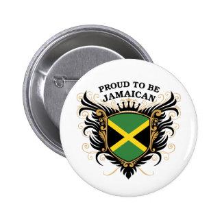 Orgulloso ser jamaicano pin