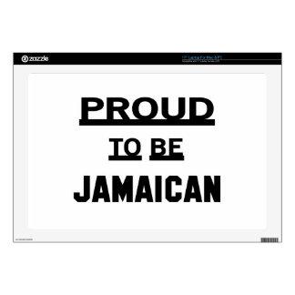 Orgulloso ser jamaicano skins para portátiles