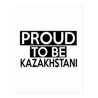 ORGULLOSO SER KAZAKHSTANI POSTAL