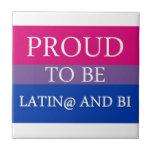 Orgulloso ser Latin@ y BI Azulejo