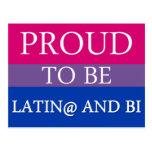 Orgulloso ser Latin@ y BI Postal