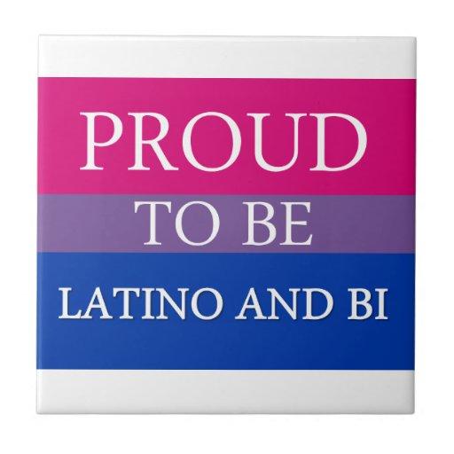 Orgulloso ser Latino y BI Azulejos Cerámicos