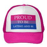 Orgulloso ser Latino y BI Gorras