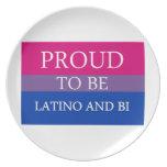 Orgulloso ser Latino y BI Plato