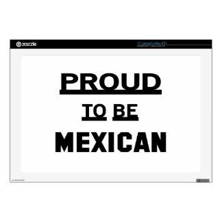 Orgulloso ser mexicano skins para 43,2cm portátiles